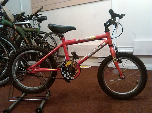 BRITISH EAGLE SCORCH 16 INCH WHEEL RED GOOD CONDITION
