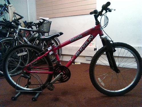 SHOGUN BLADE 24 INCH WHEEL RED/BLACK ALLOY 18 SPEED FRONT SUS GOOD CONDITION