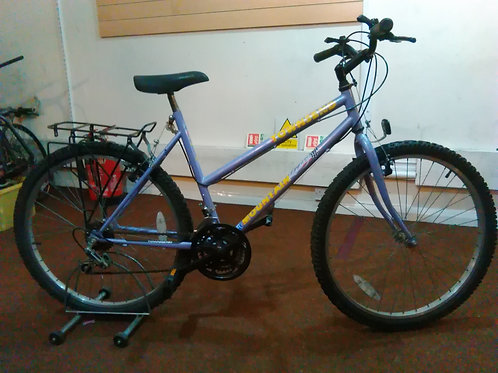 TOWNSEND MOUNTAIN KING 26 INCH WHEEL 15 SPEED LILAC GOOD CONDITION