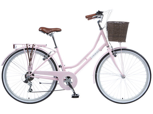 "Viking Belgravia Ladies Traditional 26"" Wheel 6 Speed Bike 18"" Pink"