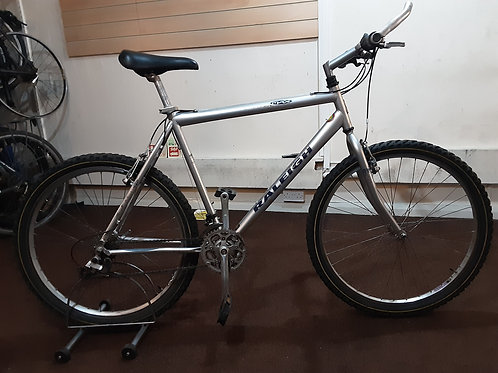 RALEIGH MAX 26 INCH WHEEL SILVER 21 SPEED CROMOLY GOOD CONDITION