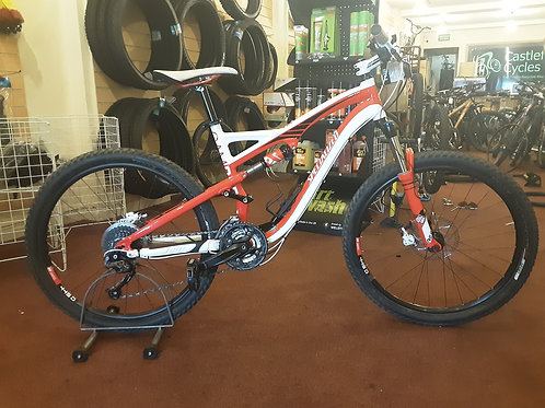SPECIALIZED COMP CAMBER FSR 27 SPEED 26 INCH WHEEL LOCKOUT SUS VERY GOOD CON