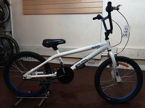 REEBOK FREAKSHOW BMX 20 INCH WHEEL WHITE GOOD CONDITION