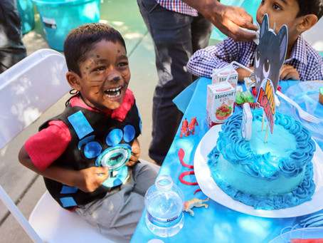 Wild Kratts Boy's 5th Birthday Party
