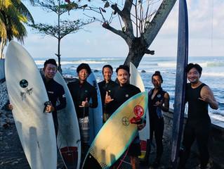 medewi surf camp2 サーフレッスン‼️