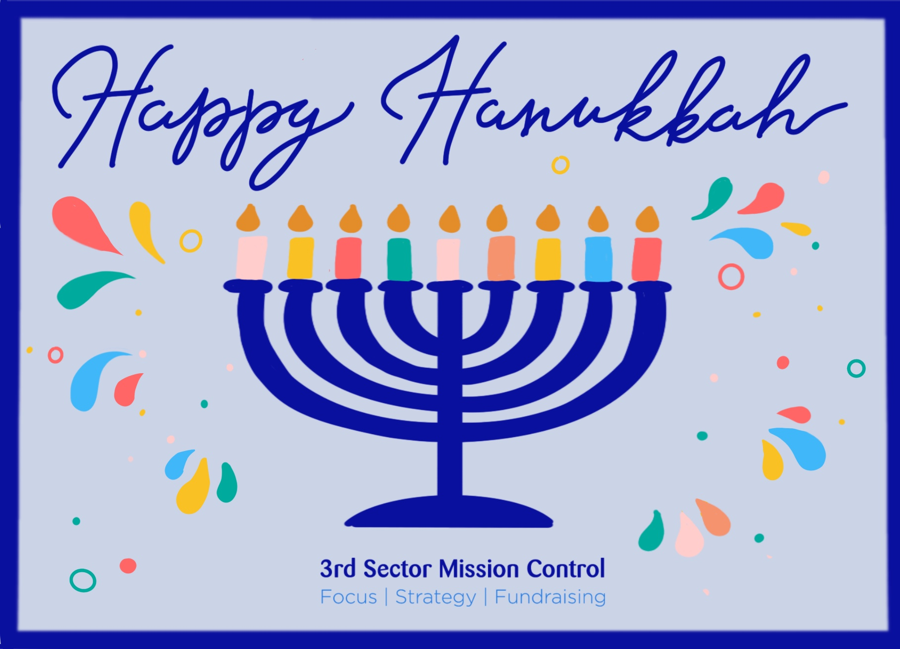 Happy Hannukah - 3rd Sector Mission Control