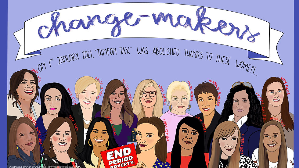 #TamponTax change-makers