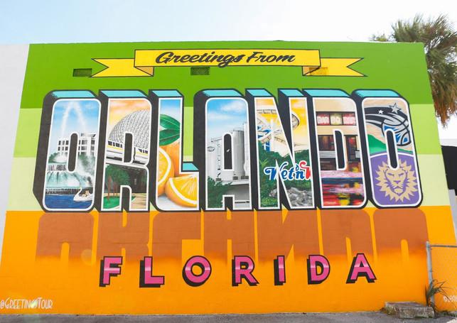 Greetings from Orlando Florida