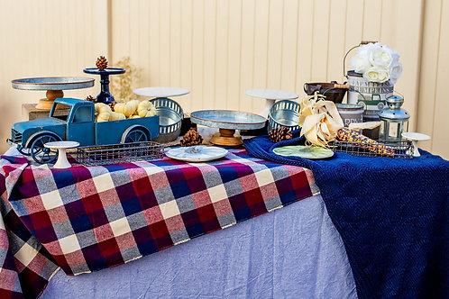 Autumn Blues - Dessert Table