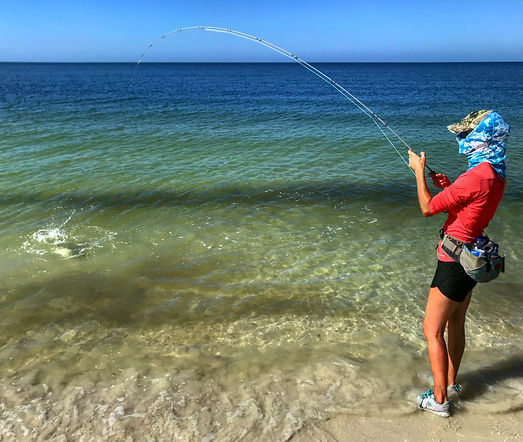Naples fly fishing trip for snook