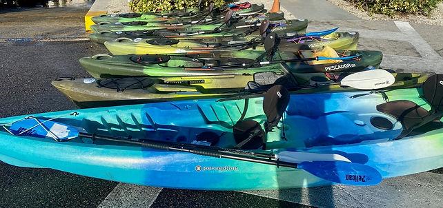 kayak rentals in Naples