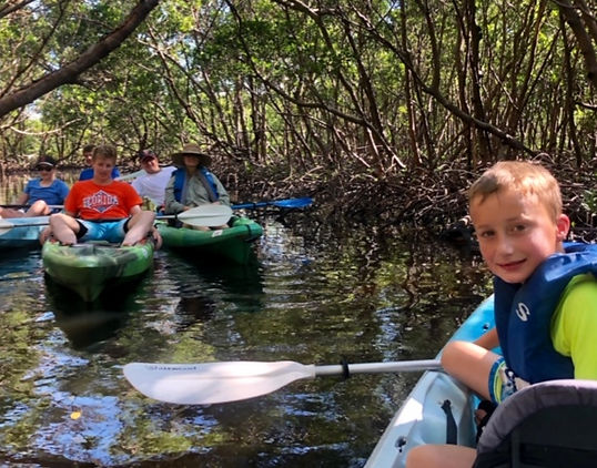 Naples kayak adventure