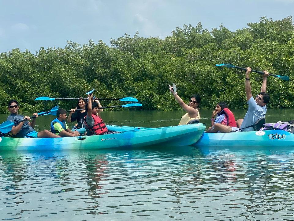 Naples kayak tour