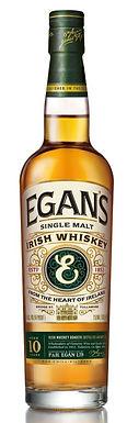 EGAN'S 10 SINGLE MALT IRISH WHISKEY