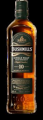BUSHMILLS 10  SINGLE MALT IRISH WHISKEY
