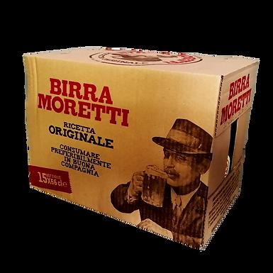BIRRA MORETTI 33 CL X 24