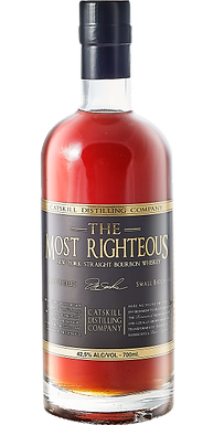 WHISKEY CATSKILL MOST RIGHTEOUS BOURBON