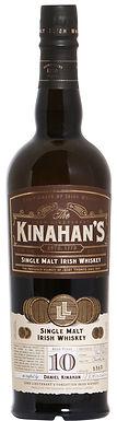 KINAHAN'S 10 SINGLE MALT IRISH WHISKEY