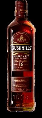 BUSHMILLS 16  SINGLE MALT IRISH WHISKEY