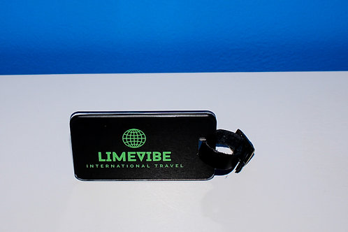 Lime Vibe Travel Luggage Tags