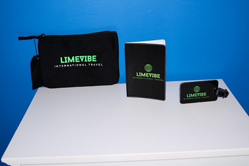 Luggage Tag, Passport Holder, and Travel Pouch