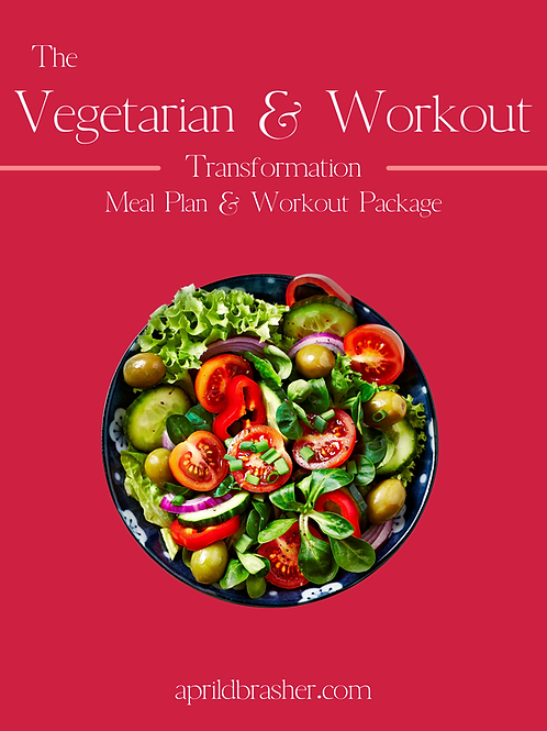 Vegetarian Meal and Workout Package