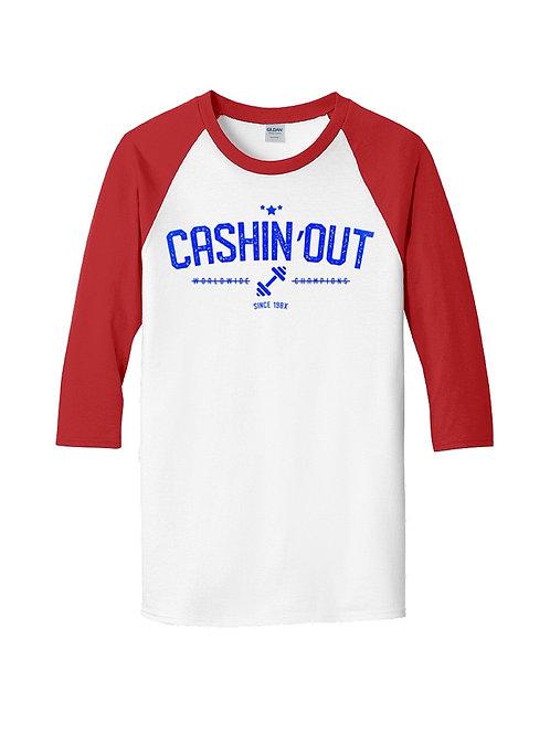 Cashin' Out Baseball Shirt