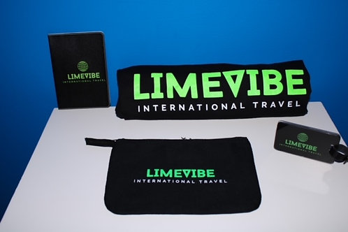 Luggage Tag, Passport Holder, T-shirt, and Travel Pouch