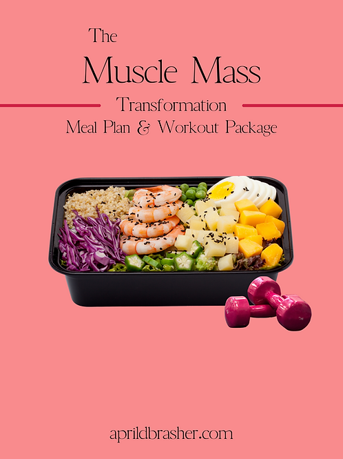 Weight Gain & Muscle Mass Package