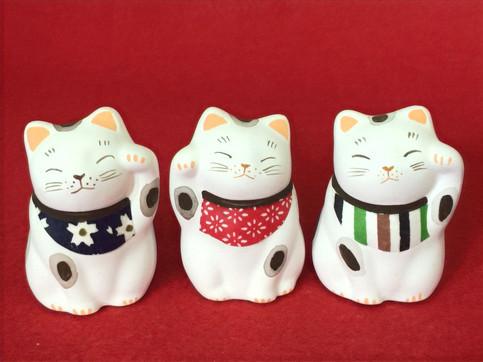 江戸の粋招き猫(小)