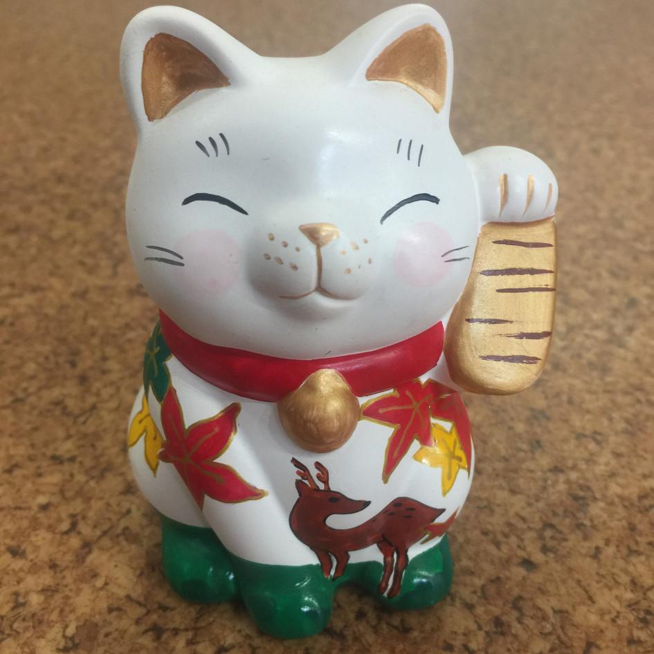 鹿小判招き猫