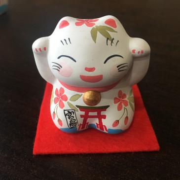宮島オリジナル招き猫