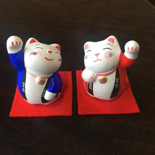 宮島ハッピ招き猫