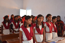 Girls in Jharkhand School