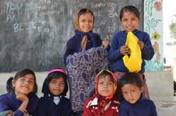 Primary children in Tribal School
