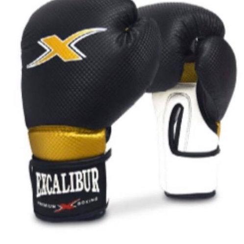 Excalibur Black Carbon Texture PU Gloves