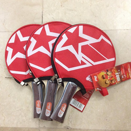 DHS Table Tennis Racket with cover