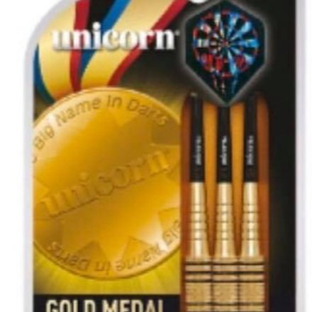 Unicorn Gold Medal Brass Darts