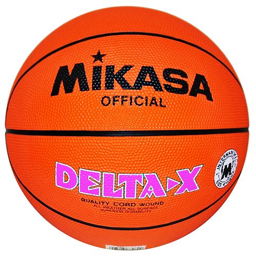 Mikasa-Delta X Rubber Basketball Print Official Size 7