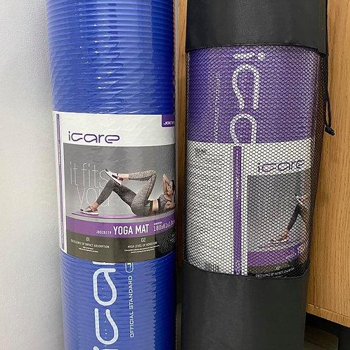 JoeRex I-CARE 10mm Yoga Mat with Bag