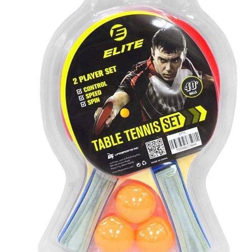 Elite Table Tennis Set