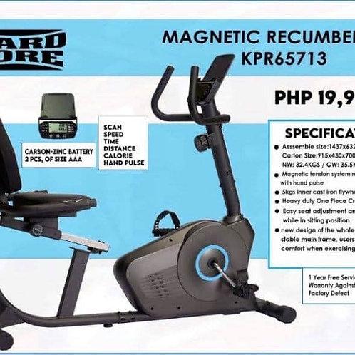 Hard Core Magnetic Recumbent Bike