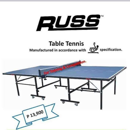 Russ Movable Indoor Table Tennis Table- Single Folding