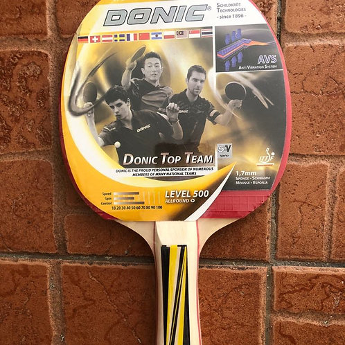 Donic Level 500 Table Tennis Racket