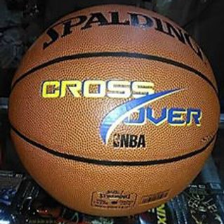"Spalding Basketball Ball Leather ""Crossover"""