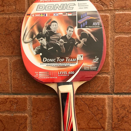 Donic Level 600 Table Tennis Racket