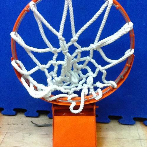 "Heavy Duty Snapback ring with net Basketball Ring 18"" diameter"