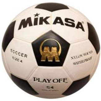 Mikasa-S4 Play Off Synthetic Leather Official Size 4