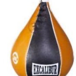 Excalibur Black with Tan Leather Speed Ball