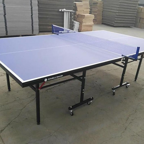 Double Smash Ping Pong Table with wheels Official Size